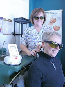 Laser Therapy is Painless
